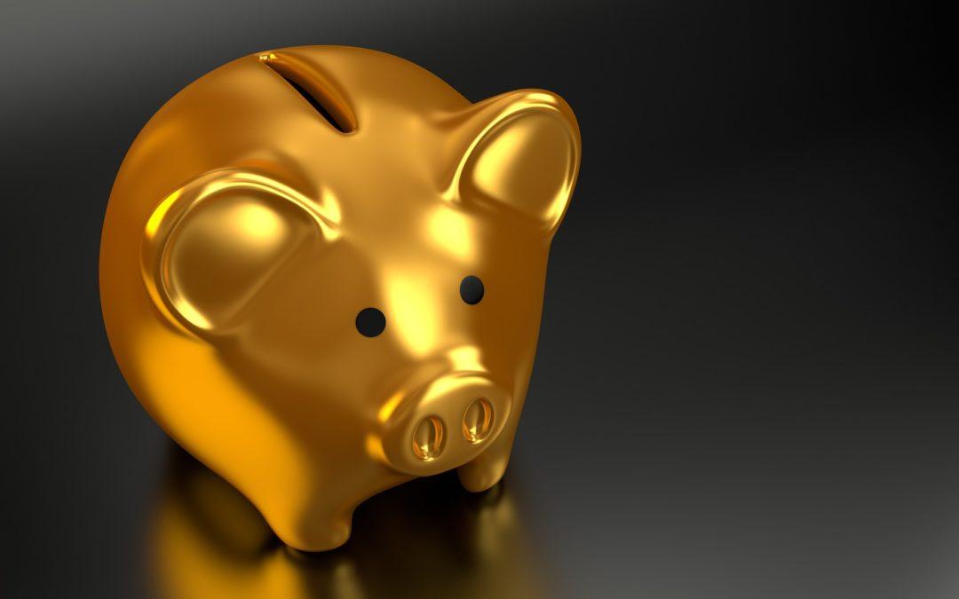 Rahan säästäminen pienistä tuloista